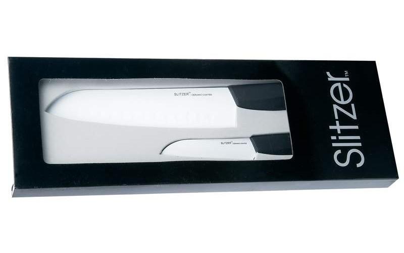 Slitzer Santoku купить набор кухонных ножей с керамическим